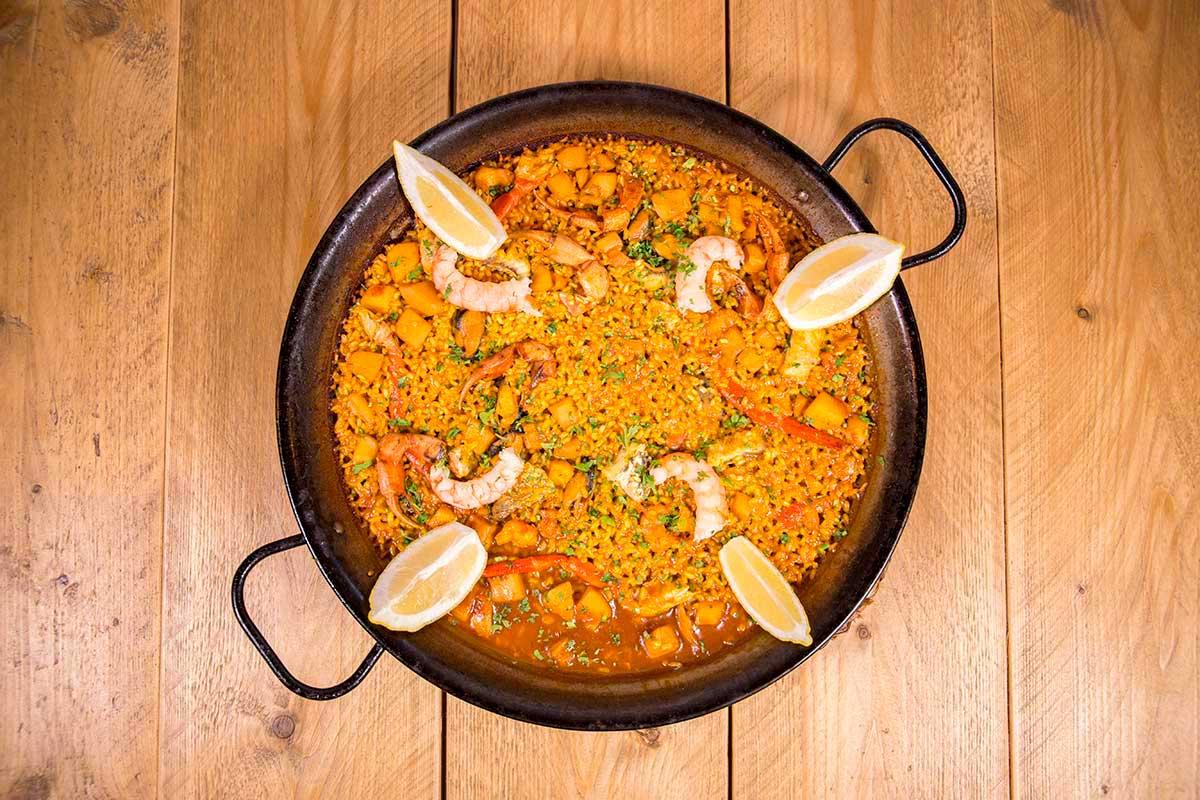 Paella Can Pasqual Restaurant